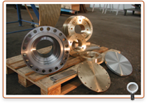 Flanges, zinc anodes and propeller nuts