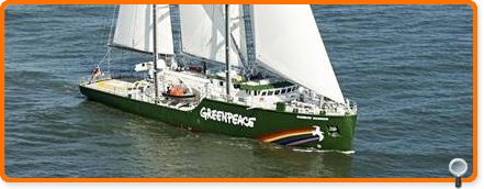 Greenpeace Flaggschiff
