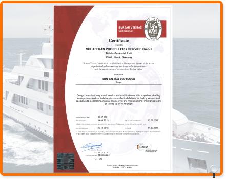 Schaffran propeller certifications - Bureau veritas france head office ...